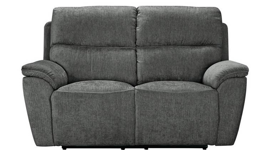 Sandy Recliner 2 Seater Charcoal