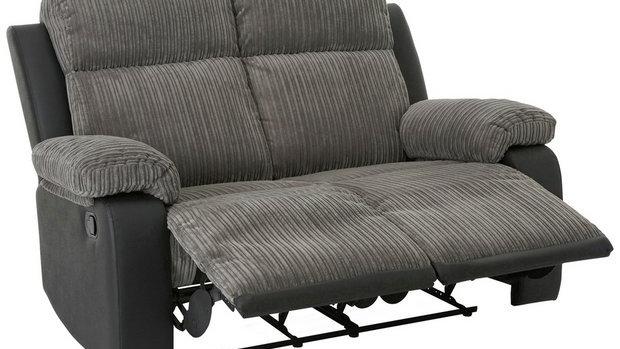 Bradley 2 Seater Fabric Recliner Sofa