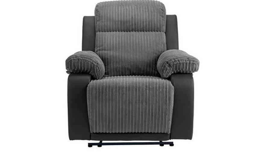 Bradley Fabric Manual Recliner Chair