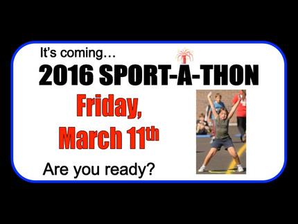 Sport-a-Thon Fundraiser