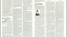 From the Archives: Sound Bite Society, New Yorker article - June 5, 1995