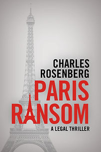 Paris Ransom Novel Cover