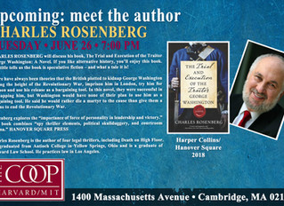 Attention Boston! - Upcoming Reading at the Coop
