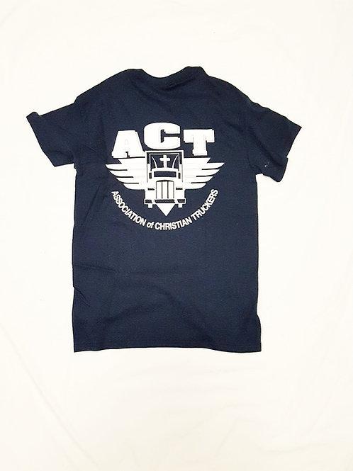 Navy Blue ACT T-Shirt