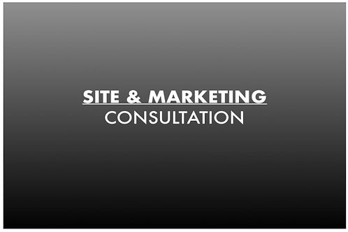 SITE & MARKETING CONSULTATION
