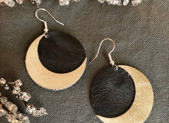 Crescent Moon Lunar Earrings