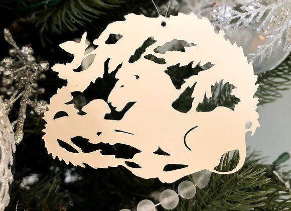 Paper Lion and Lamb Ornament