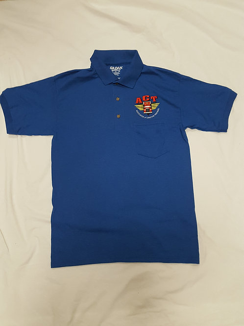Blue ACT Polo