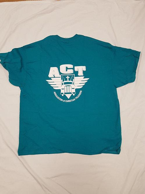 Teal ACT T-Shirt