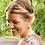 Thumbnail: Large Sage Gray Maple Leaf Earrings