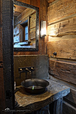 granite stone bathroom