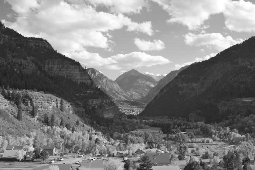 Ouray, The Switzerland of America, and home of Silex Stoneworks.