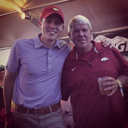 _pga_johndaly came out to celebrate my 3