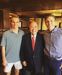 Penn w/ President Boren at OU