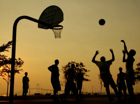 How to play. Street basketball pick up games