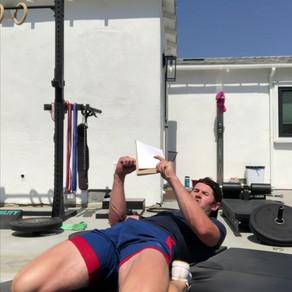 ATG  program from knee over toe guy.