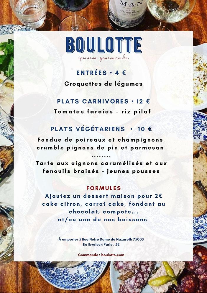 Copie de Bleu Grand Biscuit Dessert Cart