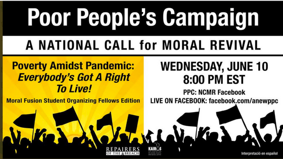 Poor Peoples Campaign June 20th