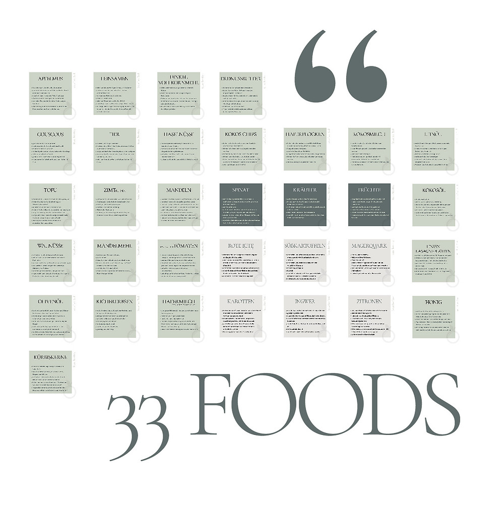 Natürliche gesunde Ernährung focusflowfood