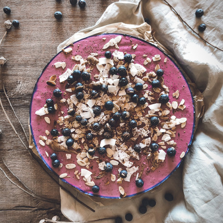 BLUEBERRY & QUARK - A CAKE DREAM COME TRUE