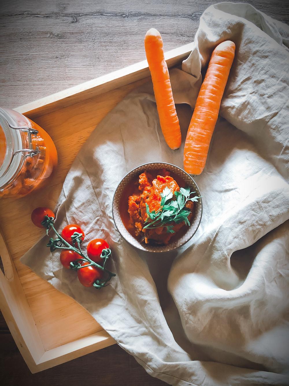 focusflowfood focus flow food gesundes rezept ajvar vegan zum selber machen fitnessfood mealprep