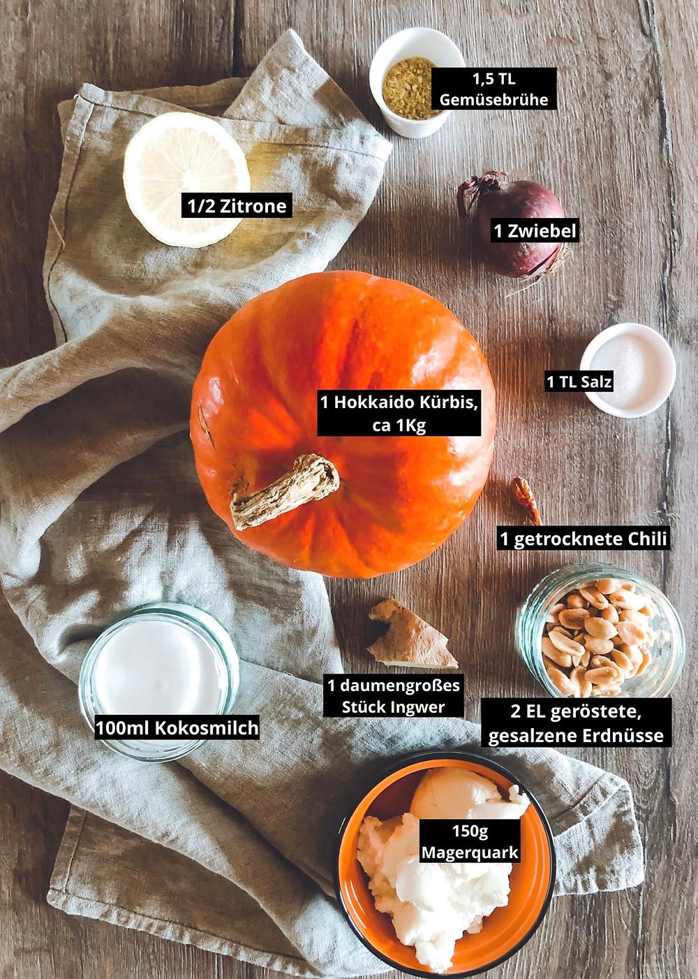 focusflowfood focus flow food Kürbissuppe Kokosmilch Thermomix gesund kalorienarm einfaches Rezept schnell