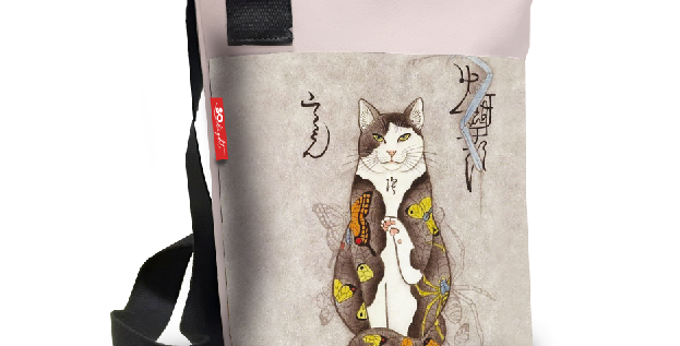 Zaino Japan cat