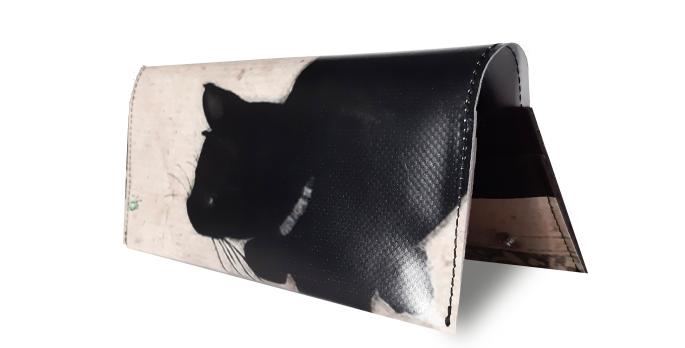 Portafoglio Black cat