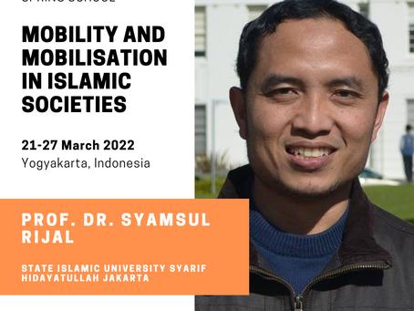 Keynote speaker : prof. dr. Syamsul Rijal