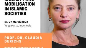 Keynote speaker: prof. dr. Claudia Derichs!
