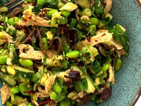 Japanese Soba Noodle Salad