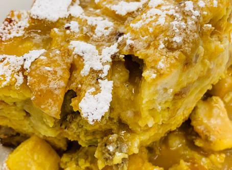 Bread Puddin'--for Breakfast???