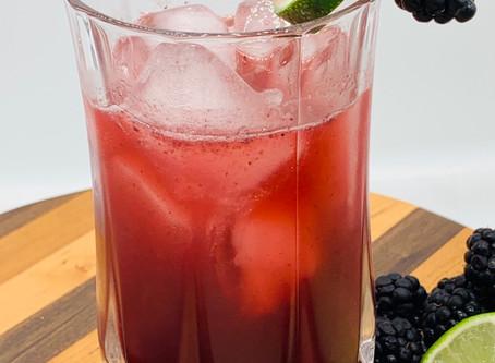 Blackberries, Bourbon & Lime