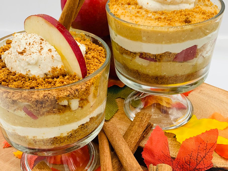 Butterscotch-Apple Mini Trifle