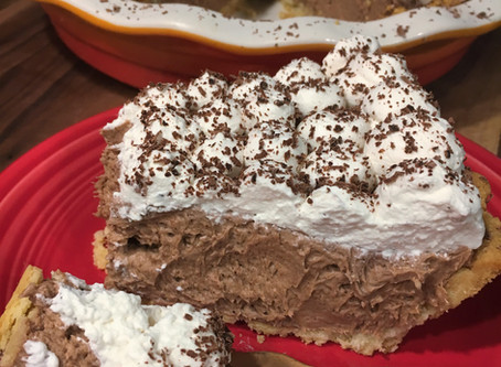 Chocolate Fudge Pie!!!! That ALL Can Enjoy!!! Need I Say More?