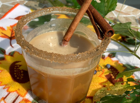 All the Tastes of fall--in a glass!!