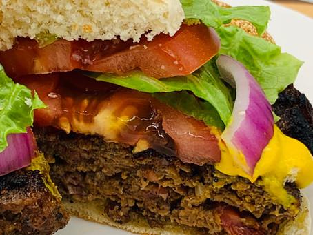 Beefy Bacon & Bourbon Burgers