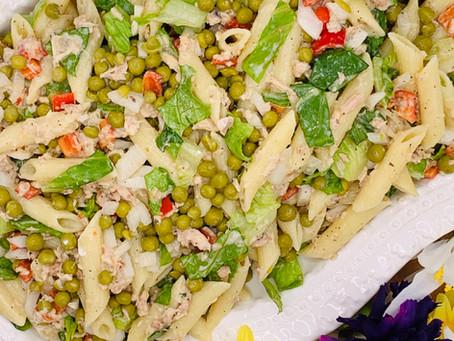 Tuna & Garden Pasta Salad