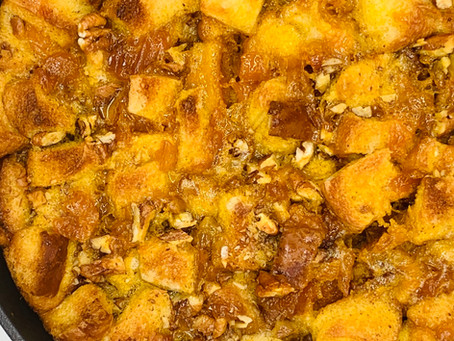 Peachy Pecan French Toast