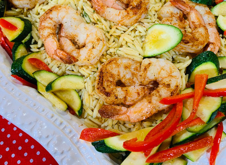 Love me some Shrimp & Orzo!!