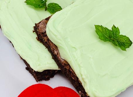 Choco-Mint Brownies