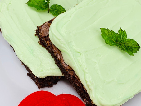 Choco-Mint Brownies