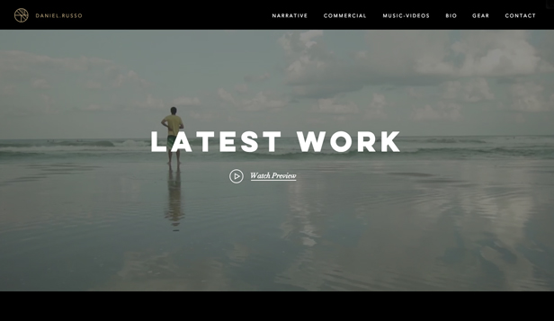 Vídeo website templates – Diretores de fotografia