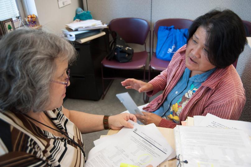TCH Immigration specialist Mari Stiffler