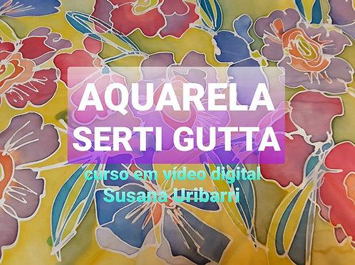 Vídeo Digital: Aquarela Serti Gutta