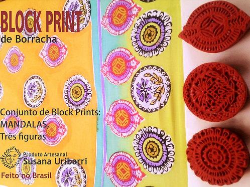 Block Print - MANDALAS