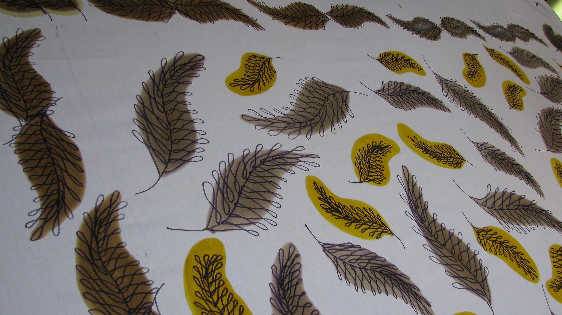 Desenho de Estamparia.