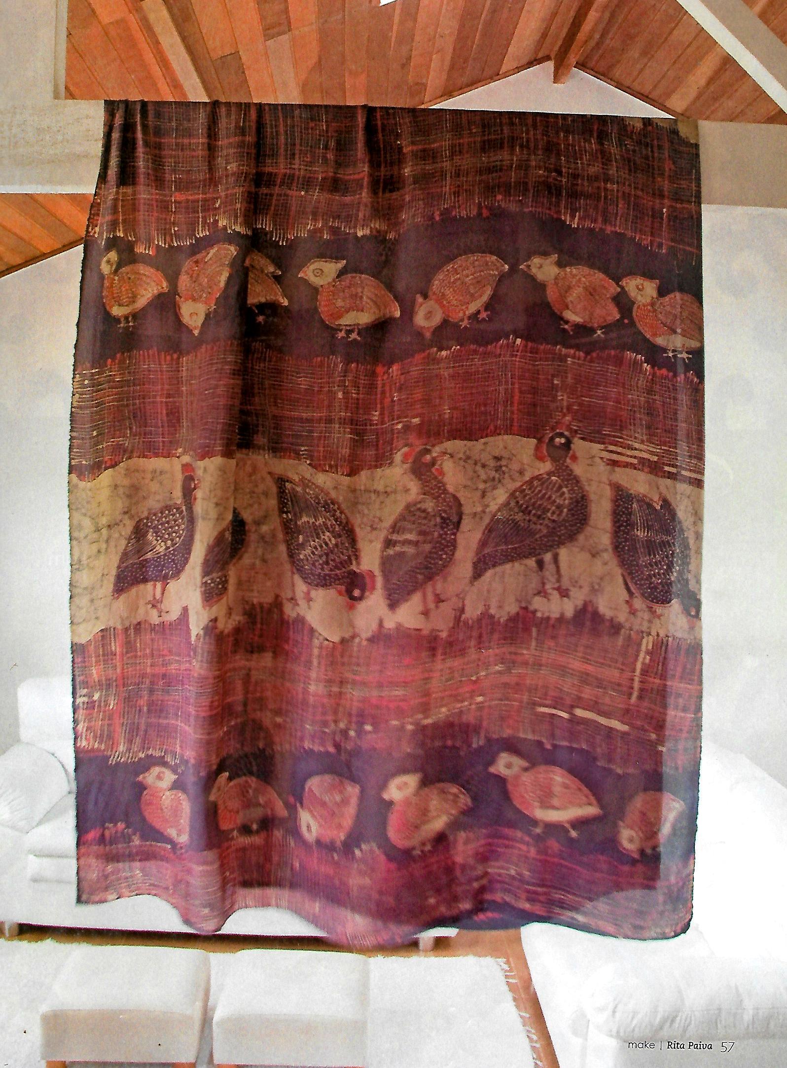 batik javanes galhinas