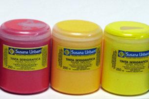 Tinta Serigráfica cores avulso pote 200