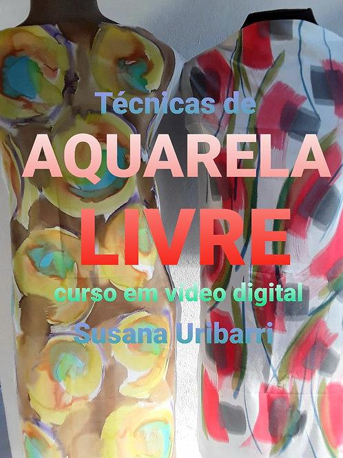 Vídeo Digital: Técnicas de Aquarela Livre